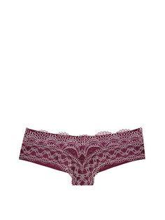 Crochet-Front Cheekini Panty-$16.50