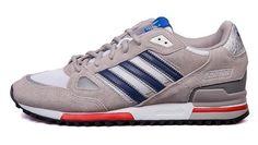 size 40 beb78 cf287 zapatillas adidas zx 750 hombre g96724 gris navy