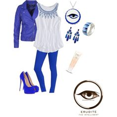 Divergent- Erudite outfit made this