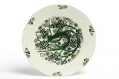 Assiette plate | décor Suzanne Lalique manufacture Théodore Haviland Présentée à l'Exposition internationale des Arts décoratifs industriels et modernes de Paris en 1925