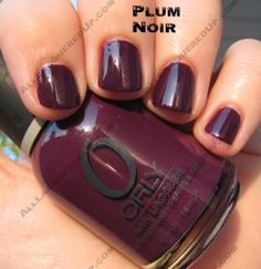 Orly Plum Noir Buy 2 lacquers at Orly, and get another 1 FREE with the promo code BUY2GET1 http://www.orlybeauty.com/
