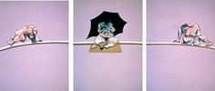 Francis Bacon: Triptych - Studies of the Human Body (1970)