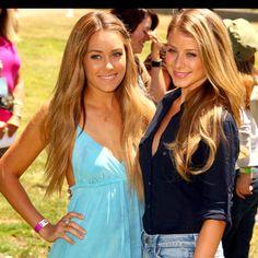 #LaurenConrad & Lo Bosworth