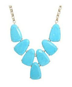 Kendra Scott Harlow Necklace #accessories  #jewelry  #necklaces  https://www.heeyy.com/suggests/kendra-scott-harlow-necklace-turquoise/