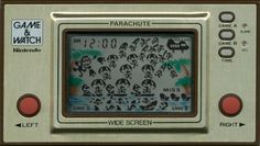 Nintendo Game&Watch - Parachute My Son used to have one of these! My Childhood Memories, Childhood Toys, Sweet Memories, Good Old Times, The Good Old Days, Retro Toys, Vintage Toys, Parachute Games, Game & Watch