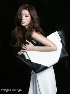 Jeon Ji Hyun for rouge & lounge spring/ summer collection