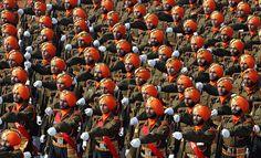 Indian Sikh Infantry.