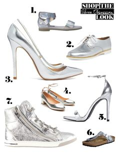 mitStil.net das Online Lifestylemagazin Mode Trend mit Stil Silver Obsession Shop the Look Star Wars, Trends, Fashion Looks, Silver, Shopping, Shoes, Cat Walk, Shoes Outlet, Starwars
