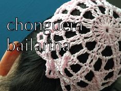 COMO TEJER #CHONGUERA BAILARINA ganchillo crochet