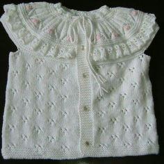 Baby Knitting Patterns, Baby Patterns, Baby Vest, Chrochet, Baby Sweaters, Vests, Tops, Women, Diy