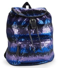 Might not be an outfit, but I love this! Sequin Stripe Backpack