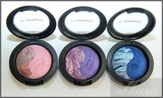 Review and Swatches:  MAC Chen Man Love and Water Mineralize Eye Shadow Duos