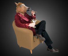 Horse Head Mask | DudeIWantThat.com