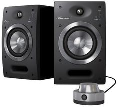 Pioneer S-DJ05 5 Active 2-Way Reference Monitoring Speakers (Pair) by Pioneer. $599.00. The S-DJ05 Active Reference Monitoring Speakers are designed for DJing and music production.  These speakers feature excellent sound quality, audio parameter control, built-in linear equalization and four switchable inputs, useful for DJs and producers who need to achieve the highest accuracy in musical reproduction.  In addition, the S-DJ05 speakers offer users the ability to change set...