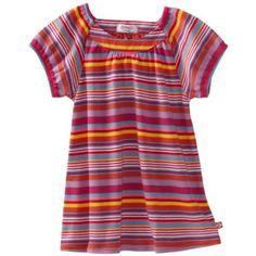Zutano Girls 2-6X Multi Stripe Short Sleeve Viola Top $30.00