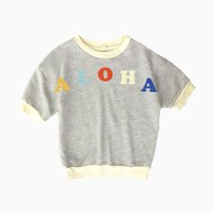 miki short sleeve pullover (aloha)