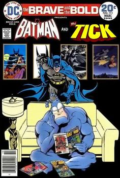 Super-Team Family: The Lost Issues!: Batman and The Tick