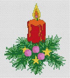 Free Cross Stitch Patterns by AlitaDesigns: Free Christmas Cross Stitch Patterns