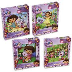 24 Piece Dora The Explorer Puzzle - 72 Units