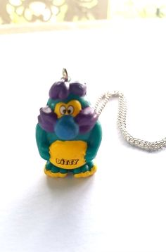 Yowie Necklace  Yowie Keychain  Toy by RoseColouredGlasses0