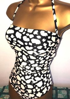 74de3c6d825 SEXY LADIES F F BLACK MIX PADDED TUMMY CONTROL SWIMSUIT SIZE 16  fashion   clothing  shoes  accessories  womensclothing  swimwear (ebay link)