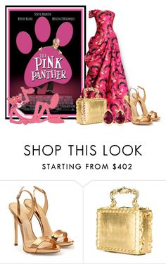 """""""The Pink Panther"""" by sjlew ❤ liked on Polyvore featuring Giuseppe Zanotti, Dolce&Gabbana and Fernando Jorge"""