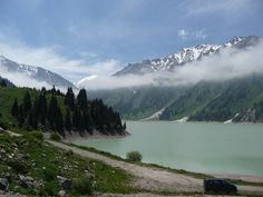 Tien Shan Mountains above Almaty | Photo