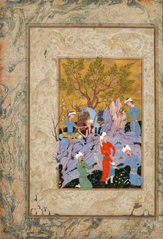 Princely Hawking Party تفرجگاه | by persian.painting
