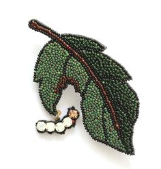 Восток и Запад в вышитых украшениях Moko Kobayashi - Ярмарка Мастеров - ручная работа, handmade