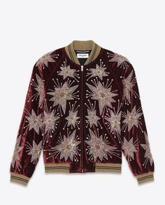 harry styles saint laurent jacket velvet sequin - Google Search