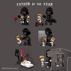 Darth Vader would have been a great father, but no, Obi-Wan needed Luke and . - Darth Vader would have been a great father, but no, Obi-Wan had to hide Luke and Leia … - Star Wars Rebels, Star Wars Witze, Star Wars Jokes, Star Wars Comics, Star Wars Fan Art, Darth Vader Father, Anakin Vader, Obi Wan, Character Art