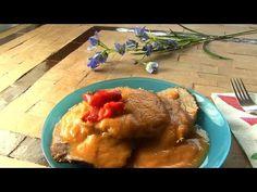 Spanischer Rindertopf, Redondo de ternera, Rinderbraten, Gemüsepüree, Video Das Rezept gibts auf Allrecipes Deutschland http://de.allrecipes.com/rezept/11598/spanischer-rindertopf-mit-gem-sep-ree--redondo-de-ternera-.aspx