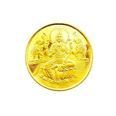 LAXMI 22 KT GOLD COIN