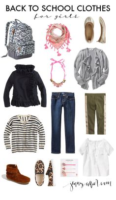 to start shopping for back to school clothes. Today I am sharing a roundup of clothes for both boys and girls. Jeans And Vans, Cargo Jacket, Back To School Outfits, Boy Or Girl, Kids Fashion, Girl Outfits, Tees, Ideas Para, How To Wear