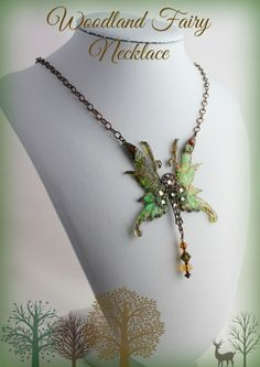 Lovely Woodland Fairy Necklace