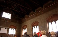 Il salone di Palazzo Gotico a Piacenza