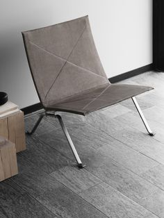 Fritz Hansen Reveals Anniversary Limited-Edition Chair and Table by Poul Kjaerholm - Nordic Design Dream Furniture, Danish Furniture, Scandinavian Furniture, Contemporary Furniture, Cool Furniture, Furniture Design, Poul Kjaerholm, Fritz Hansen, Sit Back And Relax