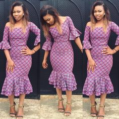 These are the most elegant ankara gown styles there are today, every lady who loves ankara gowns should see these ankara gown styles of 2019 Unique Ankara Styles, Ankara Styles For Women, Ankara Short Gown Styles, Latest Ankara Styles, Short Gowns, Ankara Gowns, Ankara Skirt, Ankara Blouse, Ankara Fabric