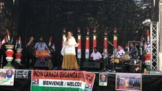 Jyoti singing 'Hum Hindustani' at the India Day Festival 2018 on Aug The event was organized by ICO, India Canada Organization. Singing, India, Events, Concert, Day, Recital, Concerts, Festivals