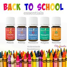 KidScents: A Collection Just for Them. These are my Young Living Back to School Essentials.