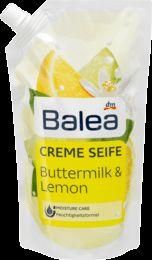 Balea Жидкое крем-мыло дой-пак Сливки и лимон 500 мл (Германия)
