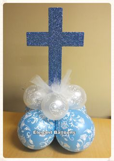 Glitter cross for communion/christenings
