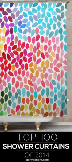 Shop The Top 100 DENY Shower Curtains Of 2014 First Home