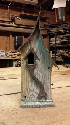 cool birdhouse
