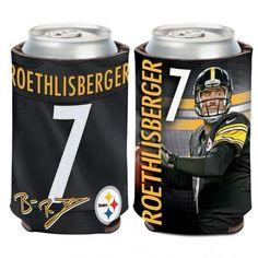 ~Pittsburgh Steelers Ben Roethlisberger Can Cooler~ backorder
