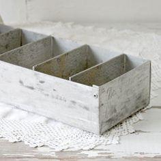 industrial metal bin by UrbanFarmgirlAndCo on Etsy, $22.00