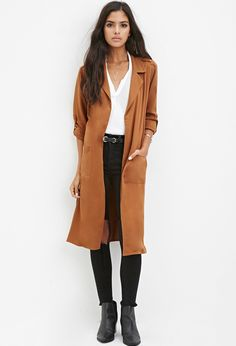 Belted Trench Coat - Jackets & Coats - 2000162836 - Forever 21 EU English