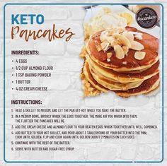 Keto Diet Book, Diet Menu, Starting Keto Diet, Keto Pancakes, Waffles, Cheese Pancakes, Keto Diet For Beginners, Keto Meal Plan, Daily Meals