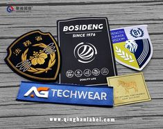 Clothing accessories label, with silent language It can be salt or sweet, gentle or handsome, traditional or trendy Choosing the right garment accessories, it can create unexpected excitement Custom Embroidered Patches, Clothing Accessories, Salt, Handsome, Label, Language, Clothes, Traditional, Create