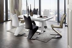 Odpružená podnož pochromovaná potah: imitace kůže . Lund, Diy Zimmer, Floor Chair, Office Desk, Furniture, Home Decor, Manhattan, Design, Products